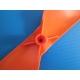 Lot de 4 hélices neuves noires et oranges pour UDIRC U829