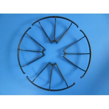 Lot de 4 protections neuves noires pour hélices de Archos Drone