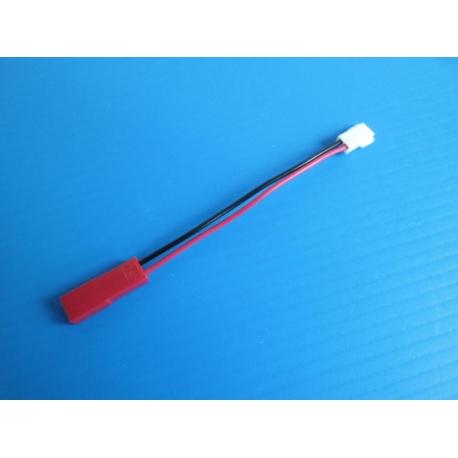 * Câble de conversion JST vers connecteur blanc pour batterie