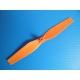 Lot de 4 hélices neuves noires et oranges pour Orange drone