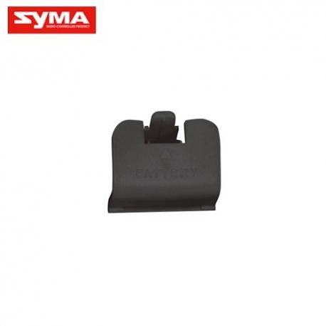 Trappe à batterie noire pour Syma X8