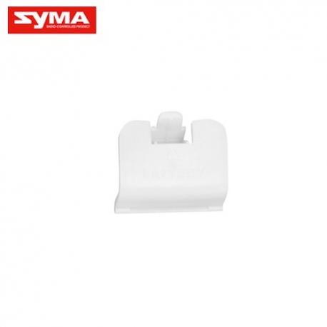 Trappe à batterie blanche pour Syma X8