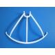 Lot de 4 protections neuves blanches pour hélices de Syma X5