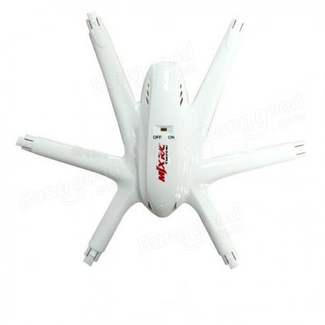 Fuselage neuf blanc pour MJX X600