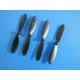 Lot de 4 hélices noires 55mm pour Hubsan H107