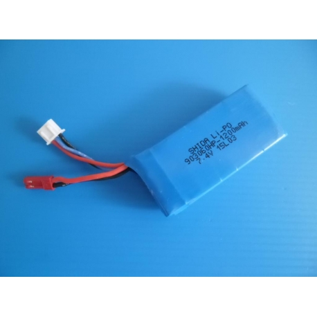 Batterie 7.4 V 1200 mah 903060HP